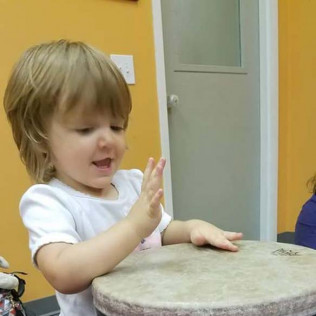 Music class is so fun!